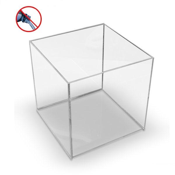 acrylbox 400x400x400 mm ohne deckel warentr ger acrylboxen mit und ohne deckel cardstore d. Black Bedroom Furniture Sets. Home Design Ideas