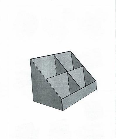 cd dvd st nder 4 fach karton schwarz warentr ger. Black Bedroom Furniture Sets. Home Design Ideas