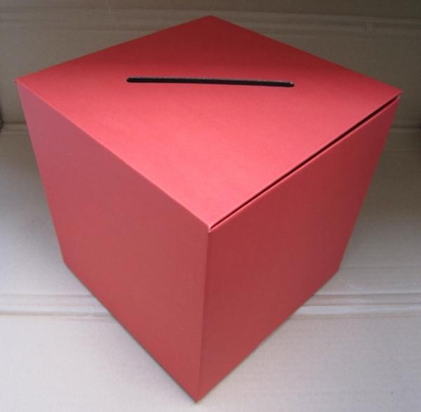 losbox einwurfbox leadbox visitenkartenbox aus karton. Black Bedroom Furniture Sets. Home Design Ideas