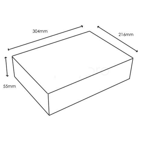 Aufbewahrungsbox Fur Flyer Prospekte Din A4 Kunststoffkoffer Und